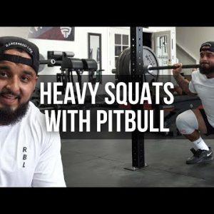 Heavy Squats with Pitbull Torres   JTSstrength.com