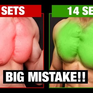 """""""How Many Sets Per Week for a BIG Chest"""" (SCIENCE SAYS!)"""