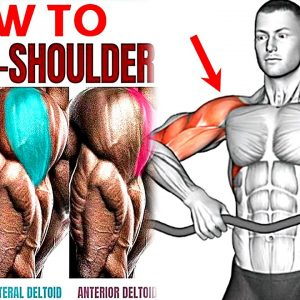 How To Build Shoulder and Trap Muscles (Try These Exercises!)