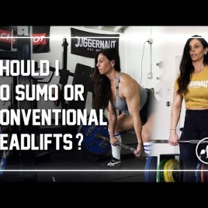 Should You Pull Sumo or Conventional? #sumo