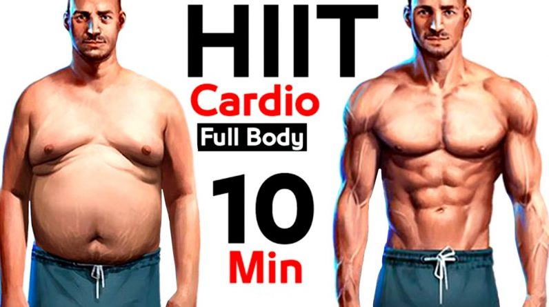 10 Minutes Cardio Workout (How to Burn Body Fat Fast)