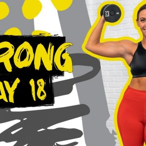 40 Minute Arms and Abs Tabata Workout   STRONG - Day 18