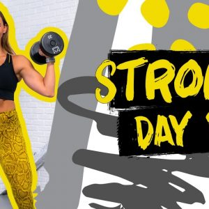 40 Minute Full Body STRONG Workout | STRONG - Day 1