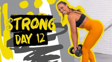40 Minute Glutes & Abs Circuits Workout | STRONG - Day 12