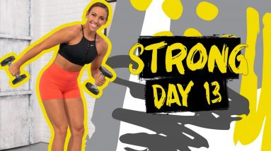 40 Minute No Repeat Upper Body Workout | STRONG - Day 13