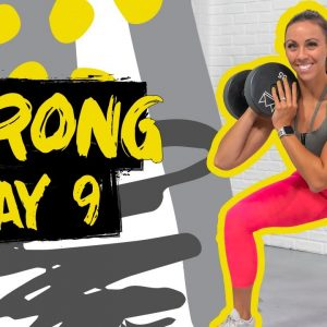 40 Minute STRONG Legs Circuit Workout | STRONG - Day 9
