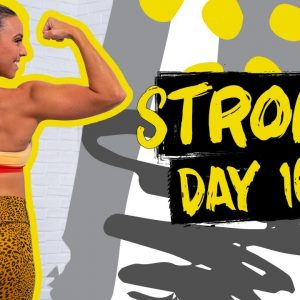 45 Minute Arms & Abs Pull Workout | STRONG - Day 10