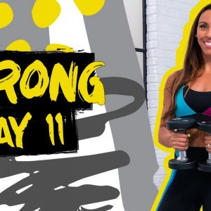 45 Minute Full Body Strong Challenge Workout | STRONG - Day 11