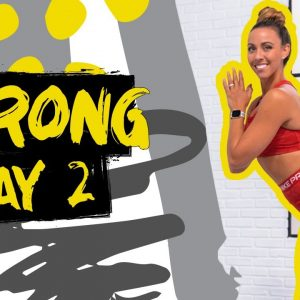 45 Minute Glutes Burnout Workout | STRONG - Day 2
