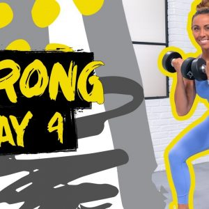 45 Minute Strong Leg Builder Workout | STRONG - Day 4