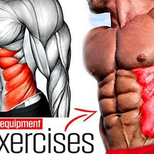 Abs Workout Oblique V-Cut 10 Best Exercises!