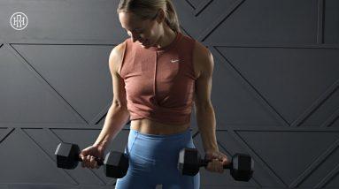 ARM TONING WORKOUT // Biceps, Triceps & Shoulders