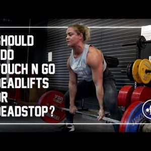 Deadstop or Touch & Go Deadlifts? #shorts