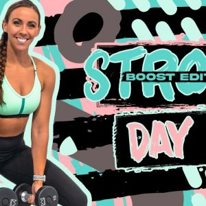 45 LEGS LEVEL 1 WORKOUT| Strong [BOOST] - Day 2