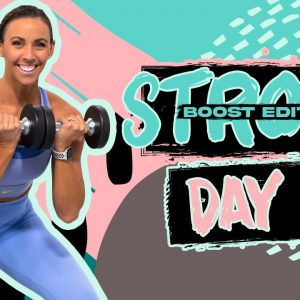 45 Minute Full Body Strength Bootcamp Workout | STRONG [BOOST] - Day 6