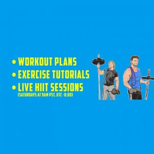 2 Guys, a Girl and a Workout Place - 20 Min Bodyweight FULL BODY CIRCUIT WORKOUT!
